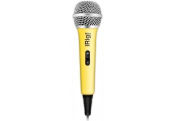 IK Multimedia iRig Voice Yellow - Akıllı Telefon ve Tabletler için Vokal Mikrofonu