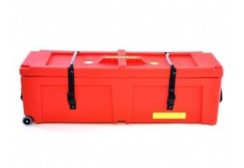 Hardcase HNP40W R - Kırmızı - Tekerlekli Aksam Kutusu