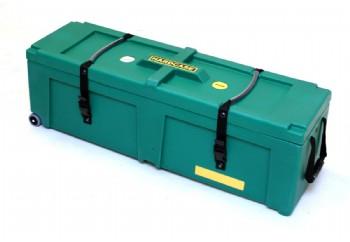 Hardcase HNP40W DG - Koyu Yeşil - Tekerlekli Aksam Kutusu