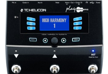 TC-Helicon VoiceLive Play Acoustic - Vokal Prosesör