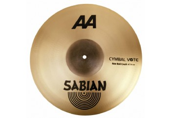 Sabian AA Raw Bell Crash 18 inch - Bell Crash