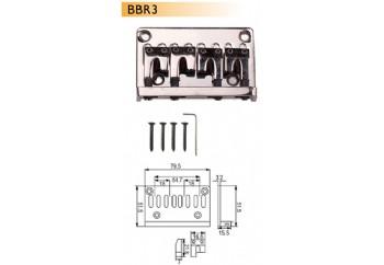 Dr. Parts BBR3 Chrome - Bas Gitar Köprüsü