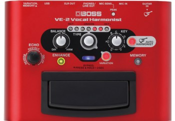 Boss VE-2 Vocal Harmonist - Vokal Prosesör