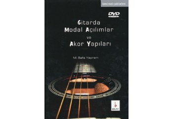 Gitarda Modal Açılımlar ve Akor Yapıları + DVD Kitap - M.Safa Yeprem
