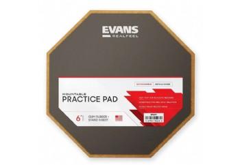Evans Practice Pads  RF6GM (6 inch Tek Taraflı) - Çalışma Pedi