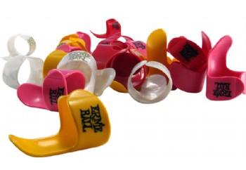 Ernie Ball 9214 Thin Assorted Colour Finger Picks 1 Adet - Parmak Penası