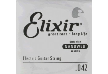 Elixir Wound Single 042 Tek Tel