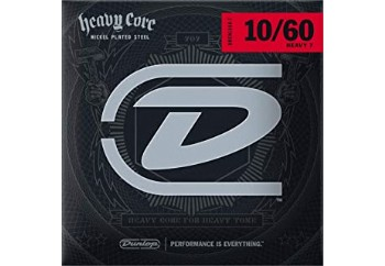 Jim Dunlop DHCN1060 Heavy Core NPS Heavy-7 Takım Tel