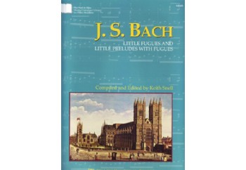 Kjos J.S.Bach Little Fugues and Little Preludes With Fugues