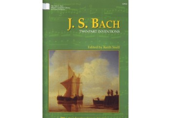Kjos J.S.Bach - Two Part Inventions Kitap - Keith Snell
