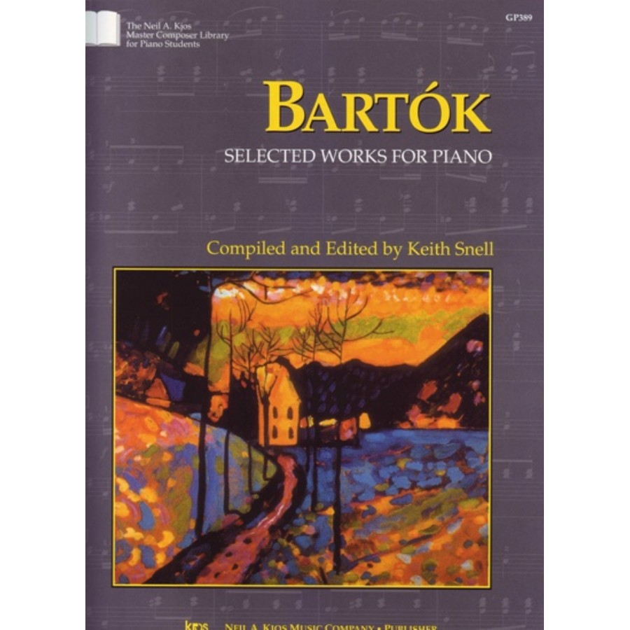Kjos Bartok - Selected Works For Piano