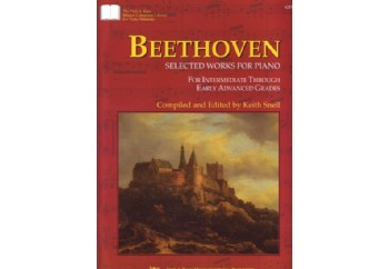 Kjos Beethoven Selected Works For Piano Kitap - Keith Snell
