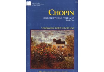 Kjos Chopin Selected Works for Piano Book One Kitap - Keith Snell