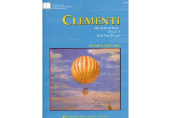 Kjos Clementi Six Sonatinas Op.36 Kitap - Keith Snell