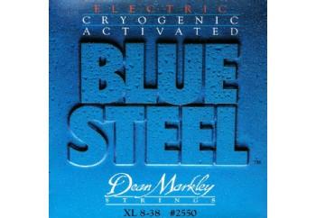 Dean Markley Blue Steel 2550 XL Takım Tel - Elektro Gitar Teli 008-038