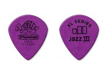 Jim Dunlop Tortex Jazz III XL 1.14 mm - 1 Adet - Pena