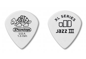 Jim Dunlop Tortex Jazz III XL 1.5 mm - 1 Adet