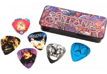 Jim Dunlop SANPT01M Carlos Santana Medium Tin 6 Adet - Pena