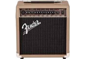Fender Acoustasonic 15 - Akustik Gitar Amfisi