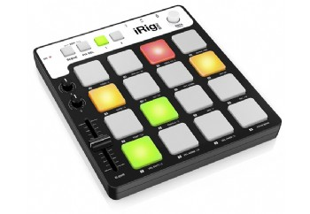IK Multimedia iRig Pads - iPhone, iPad, iPod touch, Mac ve PC için MIDI Groove Kontroller