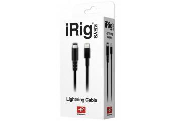 IK Multimedia Lightning to Mini-DIN Cable - iRig PRO, iRig HD ve iRig Keys için Lightning'den Mini-DIN'e Kablo