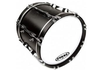 Evans MX1 White Bass Drum Head 16 inch - Bando Davul Derisi