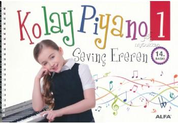 Kolay Piyano 1 Kitap