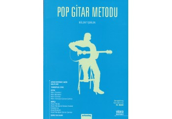 Pop Gitar Metodu Bülent İşbilen Kitap - Bülent İşbilen