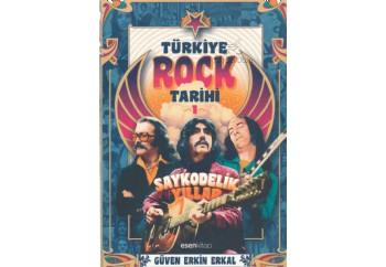 Türkiye Rock Tarihi-1 (Saykodelik Yıllar) Kitap - Güven Erkin Erkal