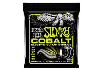 Ernie Ball 2721 Cobalt Regular Slinky Takım Tel - Elektro Gitar Teli 010-046