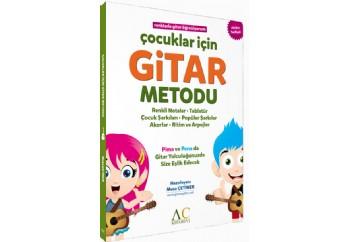 Çocuklar İçin Gitar Metodu - Musa Çetiner Kitap