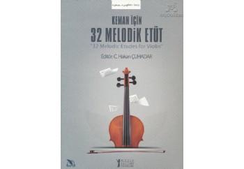 Keman İçin 32 Melodik Etüt Kitap - Kolektif