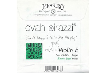 Pirastro Evah Pirazzi Violin Strings E-Mi Teli (Medium) - Keman Teli