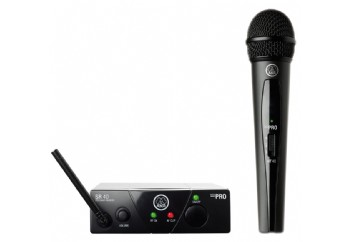 AKG WMS 40 Mini Vocal Wireless System - Telsiz Mikrofon Sistemi (Wireless-Kablosuz)