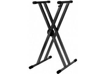 Strukture SK2XA-BK Double Braced Anodized Aluminum Keyboard Stand - Klavye Sehpası