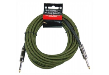Strukture SC186 18.6ft Instrument Cable, Woven MG - Military Green - 5.5 metre - Enstrüman Kablosu (5,66 mt)