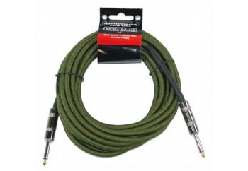Strukture SC186 18.6ft Instrument Cable, Woven MG - Military Green - 5.5 metre - Enstrüman Kablosu (5,66 mt)