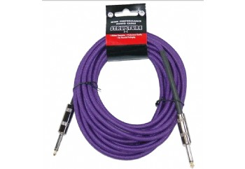 Strukture SC186 18.6ft Instrument Cable, Woven PP - Purple - 5.5 metre - Enstrüman Kablosu (5,66 mt)