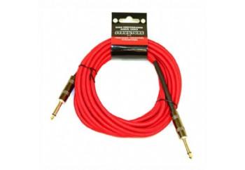 Strukture SC186 18.6ft Instrument Cable, Woven RD - Red - 5.5 metre - Enstrüman Kablosu (5,66 mt)