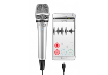 IK Multimedia iRig Mic HD-A - Android ve PC'ler için Vokal Mikrofon ve Arayüzü