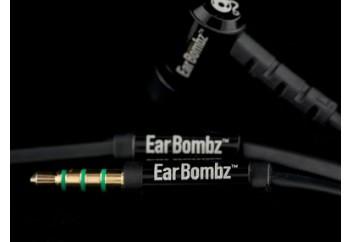 Earbombz by MultiSonus EB Pro Black - Mikrofonlu Kulakiçi Kulaklık