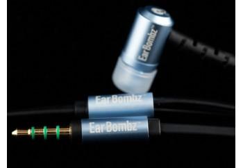 Earbombz by MultiSonus EB Pro Blue - Mikrofonlu Kulakiçi Kulaklık