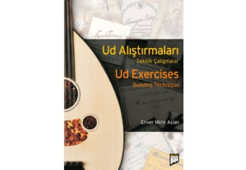 Ud Alıştırmaları - Ud Exercises Kitap - Enver Mete Aslan