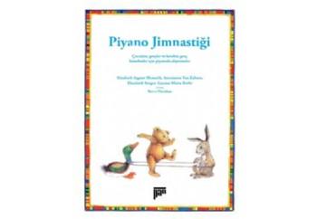 Piyano Jimnastiği Kitap - Antoinette Van Zabner
