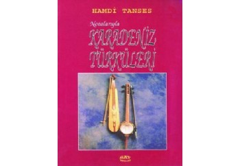 Notalarıyla Karadeniz Türküleri Kitap - Hamdi Tanses