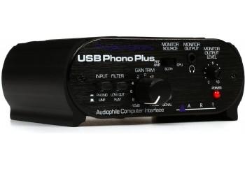 ART USB Phono Plus - USB Analog-Dijital Çevirici / Arabirim