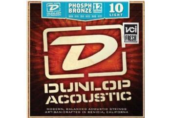 Jim Dunlop DAP1047J Phosphor Light Takım Tel - 12 Telli Akustik Gitar Teli 010-047