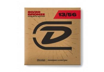 Jim Dunlop DAB1356 80/20 Bronze Medium Takım Tel - Akustik Gitar Teli 013-056