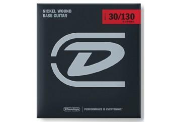 Jim Dunlop DBN30130 Nickel Wound Bass Strings, Medium Takım Tel - 6 Telli Bas Gitar Teli 030-130