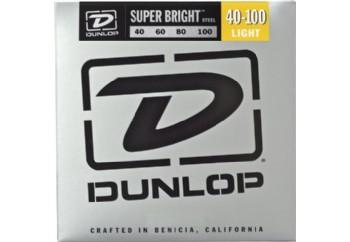 Jim Dunlop DBSBS40100 Super Bright Stainless Steel Takım Tel - Bas Gitar Teli 040-100